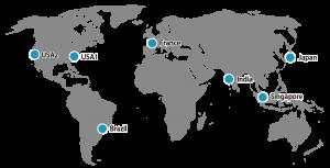 regions:Japan (Tokyo), Singapore, India (Mumbai), Brazil (Sao Paulo), United States (Virginia, California), France (Paris)